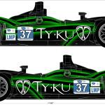 Racecar Sponsor Mockup
