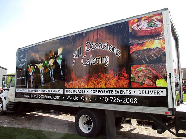 Central Ohio Box Truck Graphics