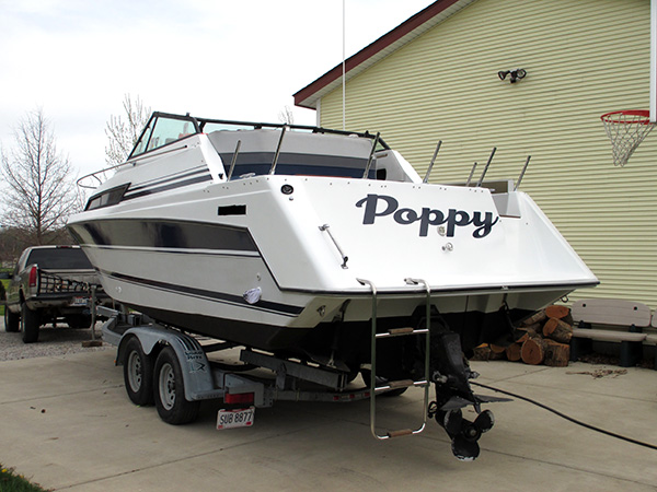 Boat Decals and Striping