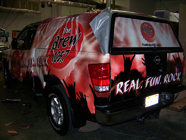 Avery Supercast Truck Wrap Graphics