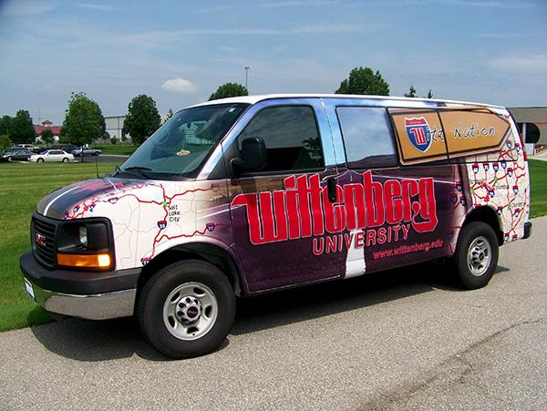 Avery Supercast Van Wrap Graphics
