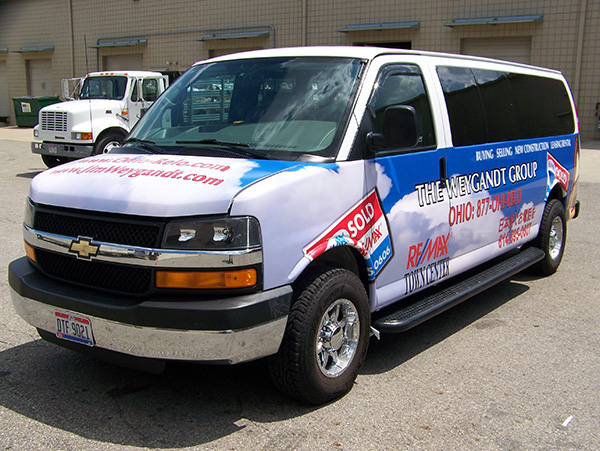 Avery Supercast Van Wrap Graphics